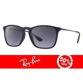 Oculos Ray Ban Chris Rb4187 Preto Original Garantia +brinde