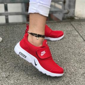 Tenis Nike Mujer Color Rojo - Tenis Nike para Mujer en Mercado Libre ...
