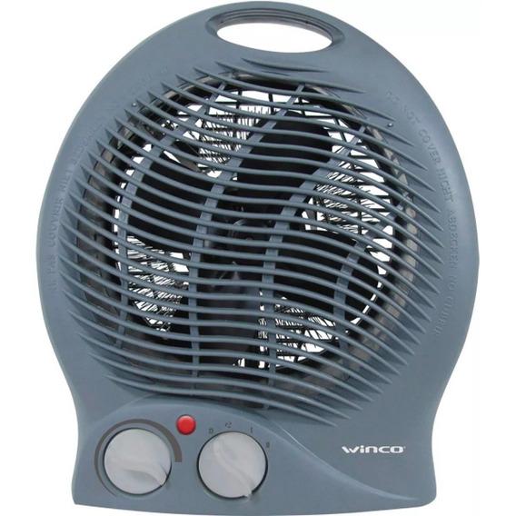 Caloventor Electrico Winco Termostato Bajo Consumo Apto Ba?o