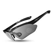 Óculos Rockbros Bicicleta Ciclismo Bike Polarizado 5 Lentes