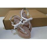 Sandália Rasteira Feminina - Marca Shoestock - Usada