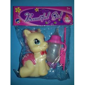 Muñeco Pony Bebé De Goma Con Accesorios