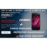 Nuevo Moto Z2 Force -supera Al S8 E Iphone 7-ver Video Black