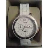 Reloj Dama Fossil Original Blanco