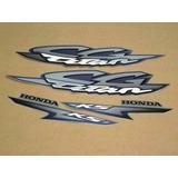 Kit Adesivos Honda Cg Titan 125 Ks 2002 Prata