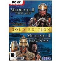 Medieval Total War 2 Gold + Expansão Pc Cd Original Lacrado