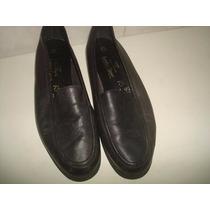 Lindo Sapato De Couro - Marca Marks & Spencer - Nº 40.