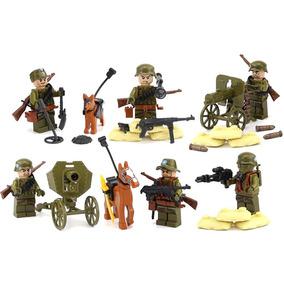 Soldados Segunda Guerra Mundial Expedit Compatibles Con Lego