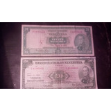 Billetes 20 Bolivares 1964,1970 Condicion Vf