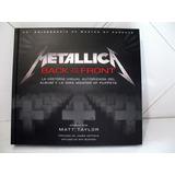 Metallica -libro Historia Master Of Puppets En Español Nuevo