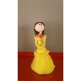Princesa Bella Adorno De Torta En Porcelana