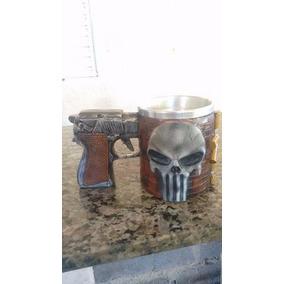 Canecas Justiceiro Copo Interno En Aluminio