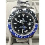 Rolex Gmt Master Il Esfera Negra Bisel Azul Y Negro