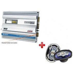 Modulo Amplificador Booster Ba - V12.4 + Par 6x9 Alto Falant