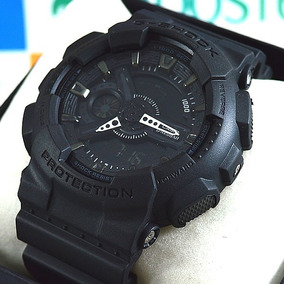 f599af5940b G Shock Correia Camuflado Preto Masculino Casio - Relógio Masculino ...