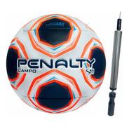 Bola Futebol Campo Penalty S11 R2 + Inflador Oficial Oferta