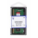 Memoria Ddr4 Kingston Kcp424ss8/8 (1x8gb|so-dimm Ddr4-2400)