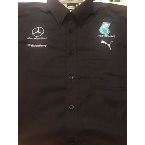 Playera O Camisa Bordada Formula 1 Mercedes Benz