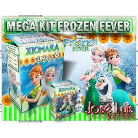 Kit Imprimible Frozen Fever Cartel Invitacion Jose Luis