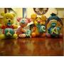 4 Personajes Winnie Pooh Con Cubos