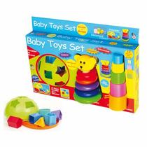 Brinquedo Pedagogico Educativo Baby Toys Set - Pica Pau