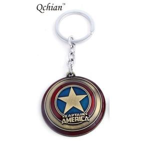 Llavero Escudo Capitán America Vengadores Avengers Marvel