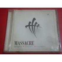 Massacre - Singles Covers Rarities (cd 1º Edicion) Usado