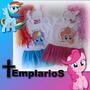 Vestido Tipo Disfraz My Little Pony Pinkie Y Rainbow