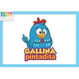 Kit Personalizado Gallina Pintadita Celest Incluye Candy Ba