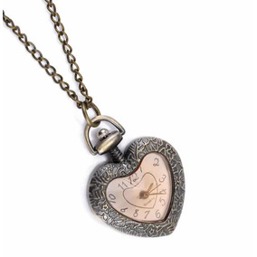 Reloj Moda Collar Corazon