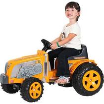 Trator Infantil Movido A Pedal Fazendeiro Amarelo - Biemme