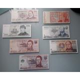 Lote Billetes De Chile Coleccion Nostalgicos