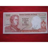 Chile 10000 Escudos Cano - Molina