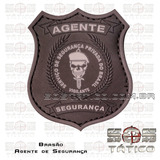 Emborrachado Agente De Segurança- Vigilante + Fixador