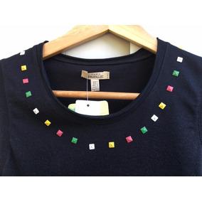 Remera Zara Con Tachas De Colores