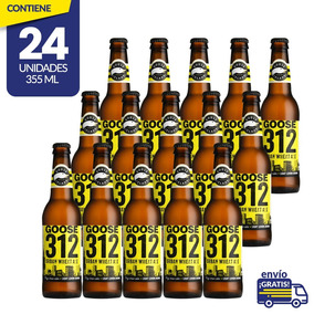 Cerveza Artesanal Goose Island 312 Urban Wheat Ale, 24 Botel