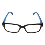 Óculos De Leitura Com Grau Armação Tunnel Azul Aço