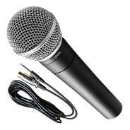 Microfono Parquer Sn57b Profesional Funda Cable Envio - Cuotas
