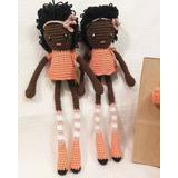 Muñecas Patas Largas A Crochet En Hilo De Algodón Amigurumis