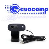 Webcam Camara Web Hd 3mp Logitech C270 Con Microfono Incorpo