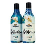Shampoo E Condicionador Botânico Cães E Gatos Peluche 500ml