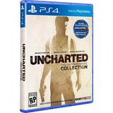 Uncharted Collection Ps4 Físico.entrega Inmediata. Español.