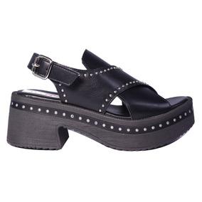 Sandalias Mujer Zapatos Tachas Tiras Plataforma 2019 Tops
