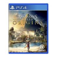 Novo: Jogo Assassin's Creed Origins - Ps4