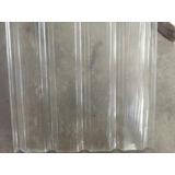 Lamina Translúcida-transparente De Techo,canal Ancha 240x080
