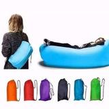 Puff Sillon Inflable Sofa Reposera Playa Pileta Lazy Bag
