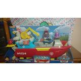 Paw Patrol Sea Patroller Patrulla Mar Luz Y Sonido Lyly Toys