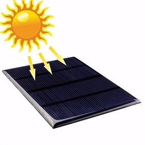 Painel Solar Placa Fotovoltaica 12v 1.5w Corrente 125 Ma