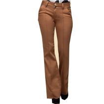 Jean Oxford Femenino Marca Pitt Jeans. Color Ocre