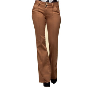 Jean Oxford Femenino Marca Pitt Jeans. Color Ocre